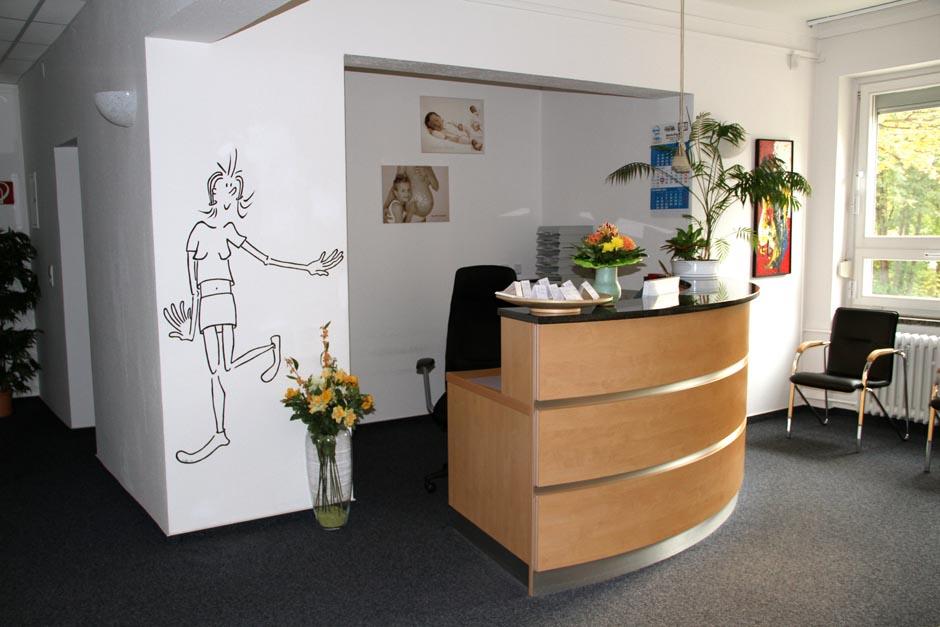 Frauenarzt Berlin Prenzlauer-Berg Empfangs- und Wartebereich2